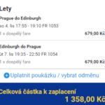 Skotsko z Prahy za 1 358 Kč